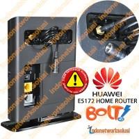 ANTENA YAGI STAINLESS OPTIMUZ+ 7YB u/ MODEM BOLT HUAWEI E5172 4G LTE HOME ROUTER 21dBi GARANSI/DIJAMIN
