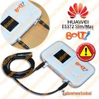 ANTENA YAGI STAINLESS OPTIMUZ+ 7YB u/ MODEM BOLT HUAWEI E5372 4G LTE Slim/Max 21dBi GARANSI/DIJAMIN