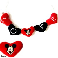 Boneka Hias Kaca Mobil Mickey Mouse - Aksesoris Mobil Murah