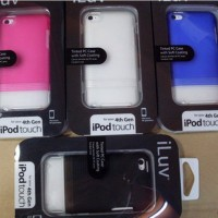 iLuv Slider Case For iPod Touch 4th Generation