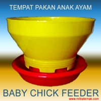 TEMPAT PAKAN ANAK AYAM (BABY CHICK FEEDER)