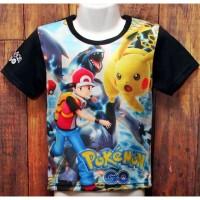 639 pokemon go 2990 kaos baju atasan anak laki printing murah