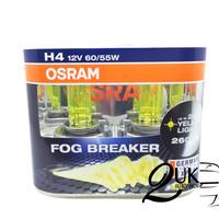 Lampu Bohlam Mobil OSRAM FOGBREAKER / FOG BREAKER / FBR / FOGLAMP H4