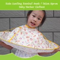 BK050 Kain Gunting Rambut Anak Salon Apron Baby Barber Clothes Haircut