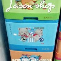 Lemari plastik/lemari serbaguna Lion Star Excel Large susun 5