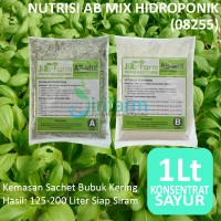 AB Mix 1L Konsentrat (Bubuk) Pupuk/Nutrisi Hidroponik Sayuran Daun