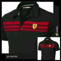Kaos Kerah/T Shirt/Tshirt Baju Pria Trendy Keren Terlaris Polo Ferrari
