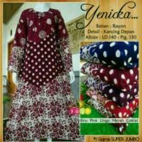 daster jumbo baju tidur dewasa gamis longdress batik