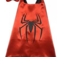 spiderman topeng dan jubah mainan anak keren lucu edukatif