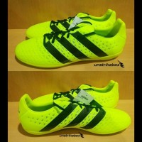 Adidas Ace 16.3 IN - Solar Yellow   Sepatu Futsal Adidas Original