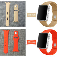 BEST PRICE Sport Strap Band for Apple Watch iWatch 42 mm rubber TERM
