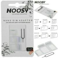 NOOSY Nano Micro Sim Card Adapter | Adaptor Kartu | Jarum Ejector