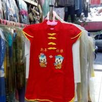 Rok dress anak perempuan imlek cheong sam pendek gb cowok cewek sz 0 2