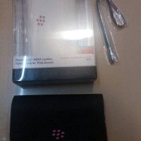 Blackberry 9800 Torch Casing Sarung Cover Leather Kulit Original