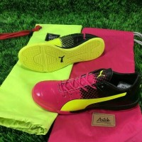 Sepatu Futsal Puma Evopower ll Pink Volt