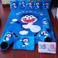 Karpet karakter / Karpet Bulu Bulu / Kasur Bayi / Surpet Doraemon