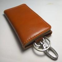 dompet stnk kulit lipat tiga warna tan   gantungan kunci mobil motor