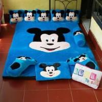 Karpet karakter / Karpet Bulu Bulu / Kasur Bayi /Surpet Mickey Mouse