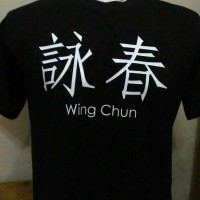 KAOS BIG SIZE WING CHUN/BAJU WING CHUN SIZE BESAR(2XL,3XL,4XL)