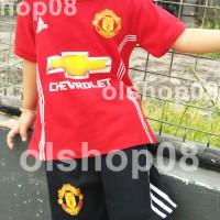 Kaos Baju Bola Anak / Bayi Manchester United