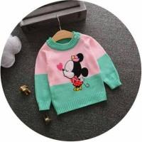 Sweater Mini Mouse / Baju Hangat Anak dan Bayi