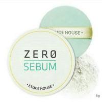 Etude House Zero Sebum Drying Powder - Bedak Untuk Kulit Berminyak