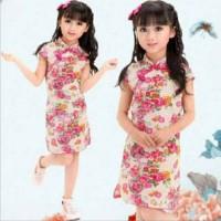 CONGSAM GAUN BAJU IMLEK ANAK PEREMPUAN DRESS CHEONGSAM DRES SHANGHAI