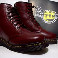 sepatu docmart boots 8holle kulit super