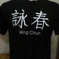 KAOS WING CHUN/BAJU WING CHUN