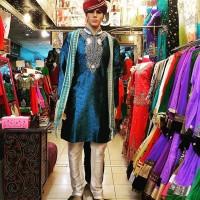 Baju India Cowok Kurta Laki Pria Import Sherwani 082