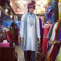 Baju India Cowok Kurta Laki Pria Import Sherwani 081