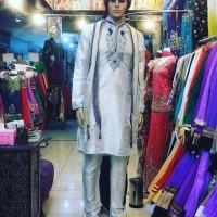 Baju India Cowok Kurta Laki Pria Import Sherwani 075