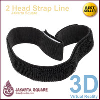 Google Cardboard + Tali Head Strap Lengkap 3D VR ..