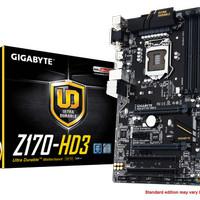 Gigabyte GA-Z170-HD3 - DDR4 (Socket 1151) Limited
