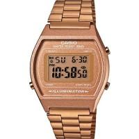 Jam tangan unisex casio ori B640WC-5A jam digital anti air warna gold