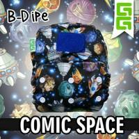 Cloth Diaper Clodi GG B Dipe Motif   Popok Kain Bayi Pengganti Pospak