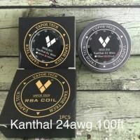 KAWAT LILIT KHANTAL A1 24 WIRE vaportech , coilling rda, rta, rdta