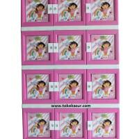 Lemari Plastik 12 Pintu Akako Dora Warna Pink