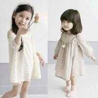 Dress Anak Sabrina Motif Bintang