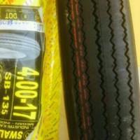 Ban motor luar classic jap style cafe racer bratstyle size 4.00-17