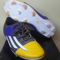 Sepatu Bola Adidas F10 Messi UCL Orange Earth Green