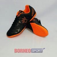 SEPATU FUTSAL KELME - KELME STAR 9 Black Orange