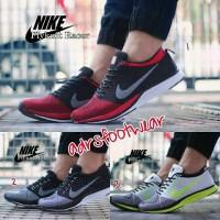 Nike Flyknit Racer Couple #sepatu olahraga sport Couple