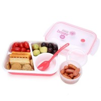 Kotak Makan Bekal Anak Sekolah TravelBag Portable Tempat Snack Buah