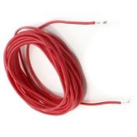 Kabel Silikon 14 Awg / Silicone Wire Untuk Rc - Red/Merah ( 10 Cm )