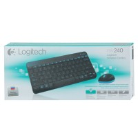 Logitech MK240 Mini Keyboard Mouse Wireless