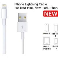 APPLE LIGHTNING CABLE FOR iPhone 5/iPad/iPod|Kabel Data iPhone 5/iPad