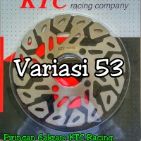 Piringan Cakram KTC Honda Beat / Scoopy / Vario Standar Model Drag