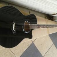 Gitar YAMAHA APX 500 ii HITAM EQ 7545R NON BONUSS
