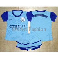 Best Seller Setelan Celana Baju Bola Anak Bayi Perempuan - Manchester